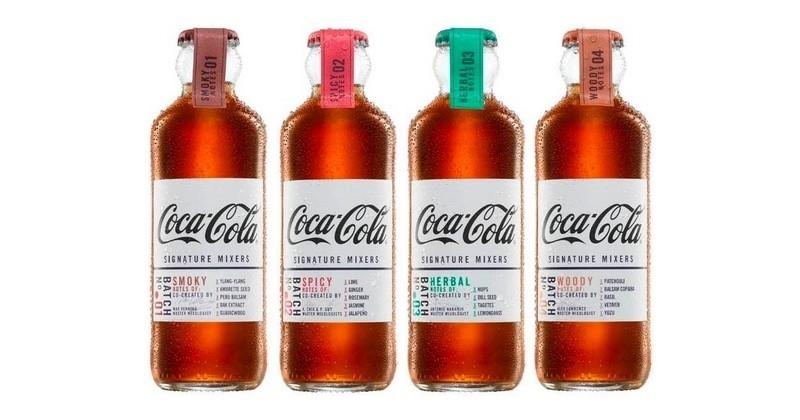 Coca-Cola a dévoilé sa nouvelle série de sodas haut de gamme à mixer avec des spiritueux !