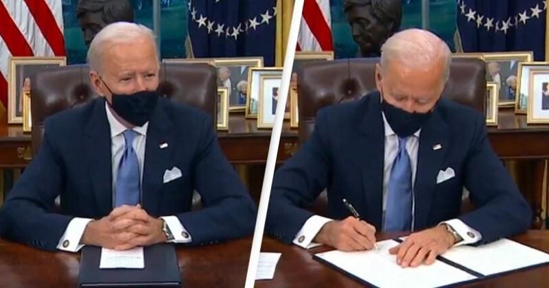 Dès sa première journée en fonction, Joe Biden rejoint l'Accord de Paris sur le climat