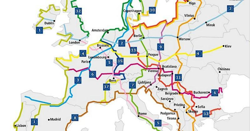 L'Europe crée 15 itinéraires 100% cyclables pour traverser et découvrir le Vieux Continent à vélo !