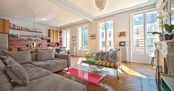 Visitez ce sublime appartement parisien grand luxe, entièrement rénové par la décoratrice d'intérieur Tatiana Nicol : sublime !