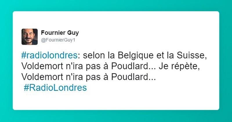 20 tweets les plus drôles de #RadioLondres, quand les twittos relayent des messages cryptés très drôles sur les tendances du résultat de l'élection