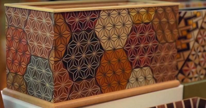 Le Yosegi ou l'art de transformer le bois en mosaïque !