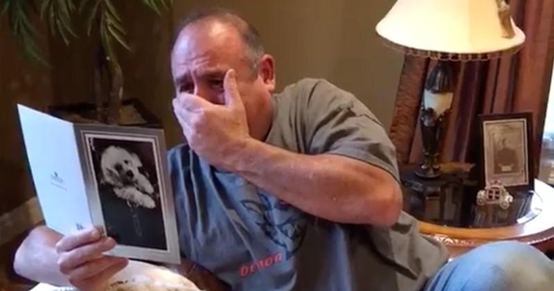 Ce père de famille est bouleversé en découvrant la surprise magnifique offerte par ses filles