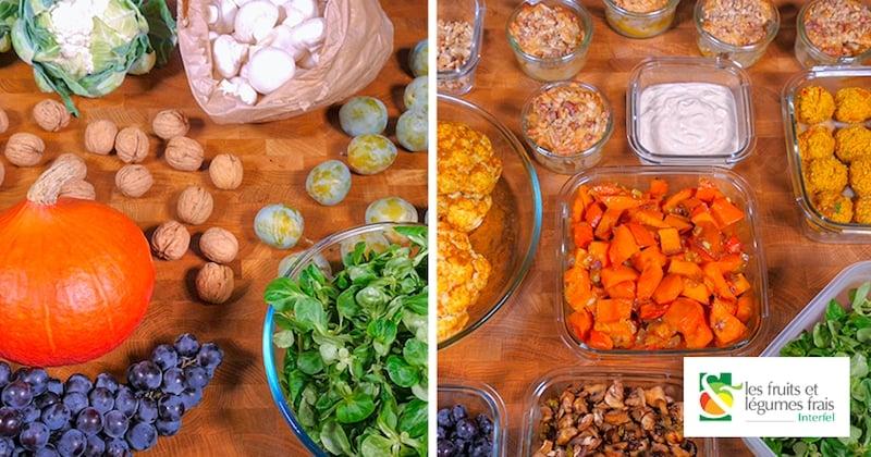Adoptez le batch cooking et savourez 5 recettes d'automne à petits prix !