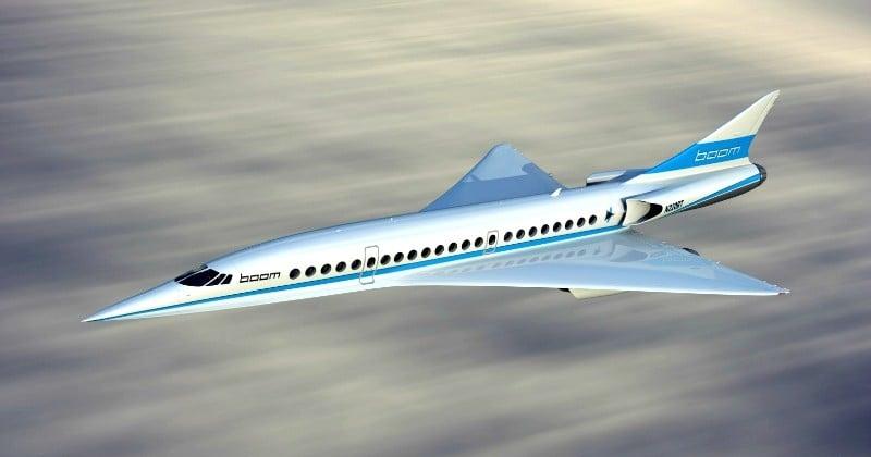 Boom Technology annonce un vol Paris-New York en 3h30 dès 2023!