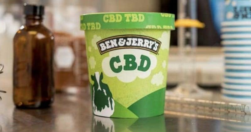 Ben & Jerry's s'apprête à lancer une glace au CBD, un composant du cannabis !