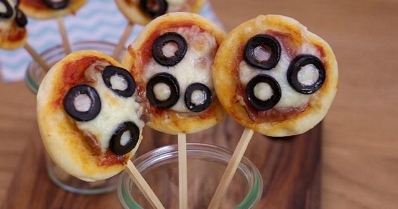 Pour l'apéro, les « Pizzas Pop » de Francine vont vous régaler !