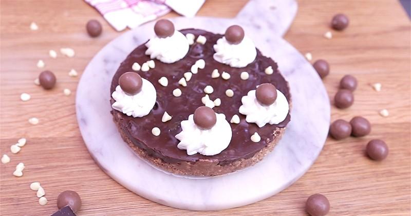 Craquez pour la tarte aux maltesers, une gourmandise à dévorer au dessert!