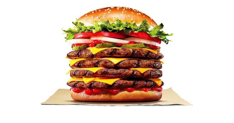 Le plus gros burger jamais inventé par Burger King