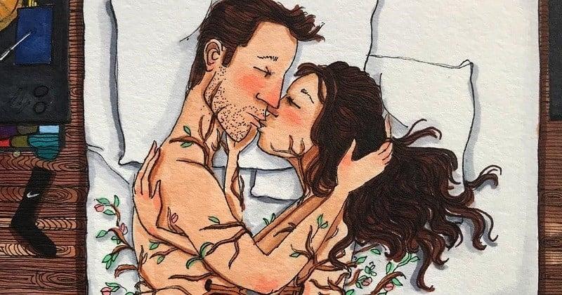 Une illustratrice américaine dessine la vie à deux de la plus belle des manières