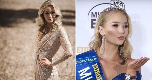Voici Miss Islande. Jugée trop grosse, on lui a demandé de perdre du poids pour participer à un concours de beauté à Las Vegas... ce qu'elle a refusé de faire !