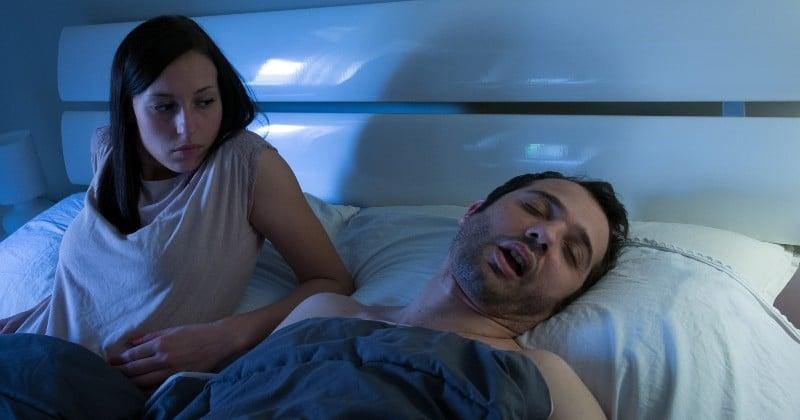 Une étude canadienne affirme que dormir avec un(e) partenaire qui ronfle réduit votre espérance de vie