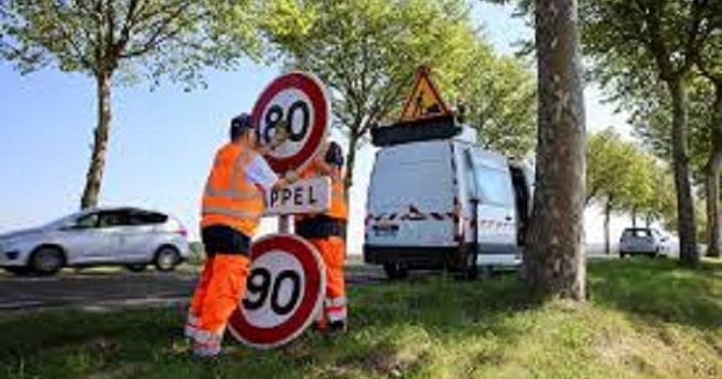 Le nombre de morts sur les routes en baisse, un mois après le passage à 80km/h
