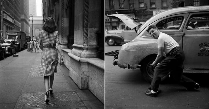 20 photos magnifiques de New York dans les années 40 signées Stanley Kubrick
