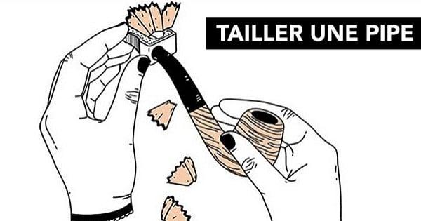 Une illustratrice s'approprie les expressions françaises en les dessinant selon leur sens propre... C'est très drôle !