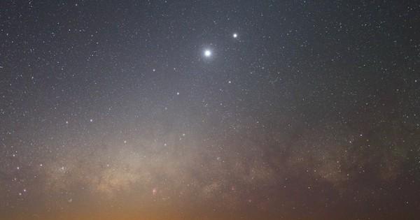 Amateurs d'astronomie, préparez vos agendas : à partir de maintenant, et jusqu'au 20 février, la luminosité de la planète Vénus va augmenter jusqu'à atteindre des propensions spectaculaires !