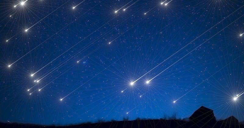 Dans la nuit du 21 au 22 avril, ne manquez pas les Lyrides, une pluie d'étoiles filantes prolifique !