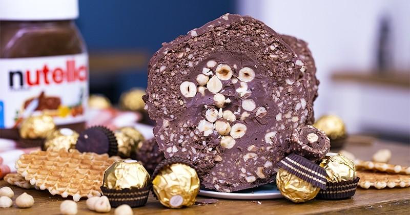 Ferrero rocher géant