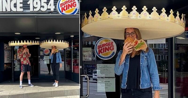 Allemagne : la nouvelle idée improbable de Burger King pour respecter les règles sanitaires