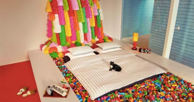 Il est encore temps de séjourner gratuitement dans le Airbnb entièrement fait de Lego!