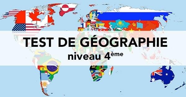 TEST : Sauras-tu répondre à ces 20 questions de géographie de niveau 4ème ?