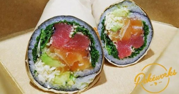 La recette à tester impérativement : les roulés au sushi (ou sushi burrito)