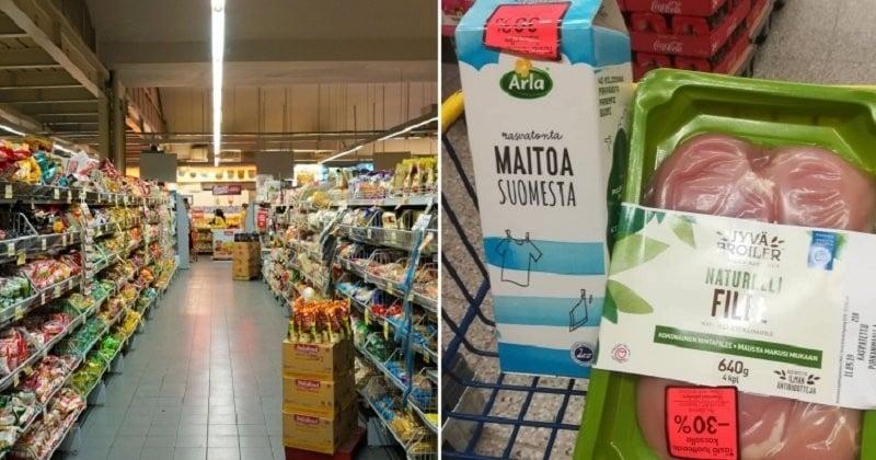 Des supermarchés finlandais lancent un « happy hour » d'un nouveau genre destiné à lutter contre le gaspillage alimentaire