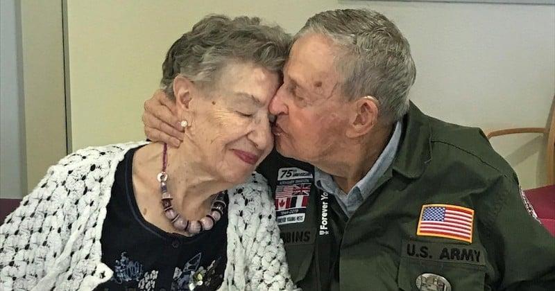 « Tu n'as jamais quitté mon coeur », les retrouvailles d'un vétéran américain et d'une Française qui se sont aimés pendant la guerre