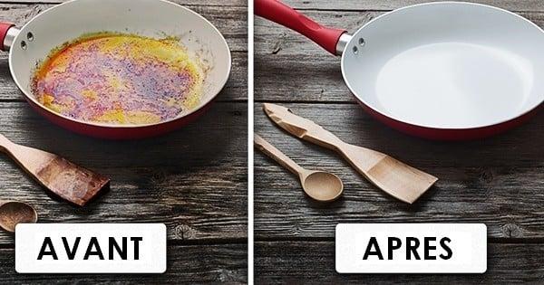 10 astuces qui vont radicalement changer votre fa on de nettoyer votre cuisine. Black Bedroom Furniture Sets. Home Design Ideas
