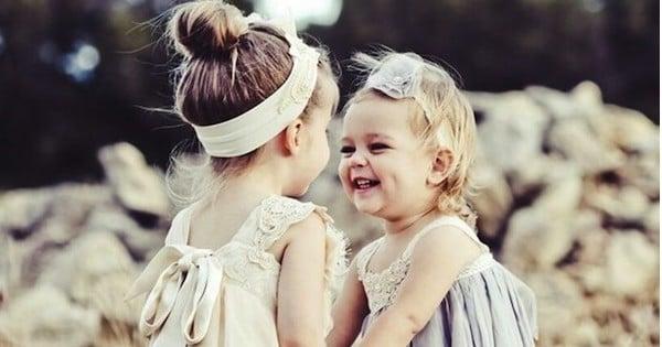 Vous avez tout appris de votre petite soeur: La preuve !