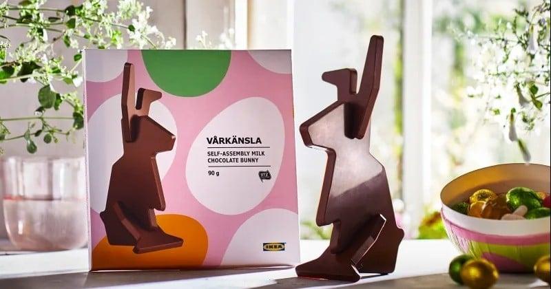 IKEA lance le lapin en chocolat à construire soi-même pour Pâques !