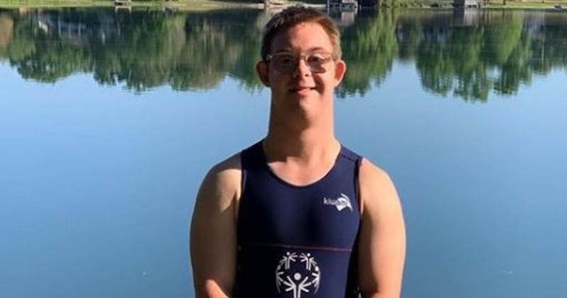 À 20 ans, il rêve d'être le premier athlète atteint de trisomie 21 à terminer un Ironman