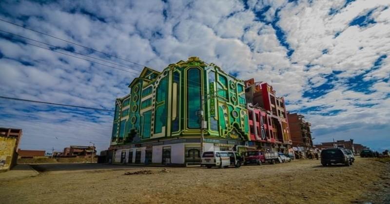 Découvrez les Cholets d'El Alto, les symboles kitch et flamboyants de l'architecture Bolivienne !