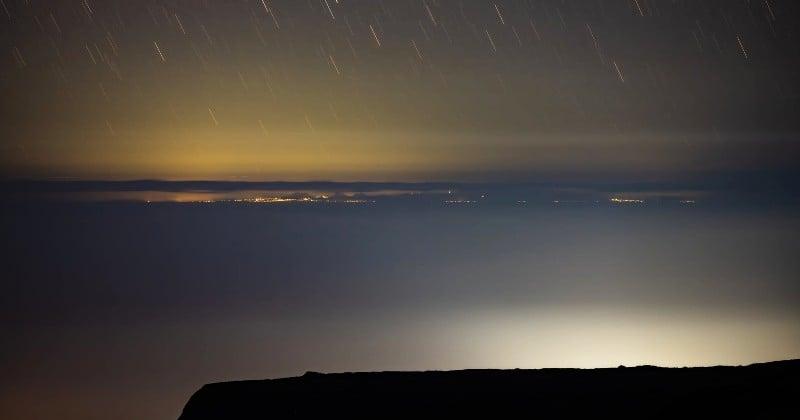 Un photographe immortalise un phénomène rare : l'île Maurice visible depuis la Réunion
