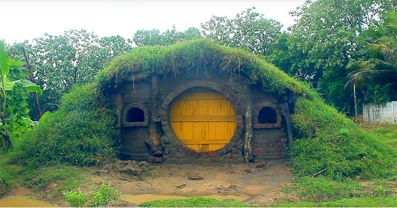 Qui n'a pas encore rêvé de construire sa propre maison de Hobbit ?