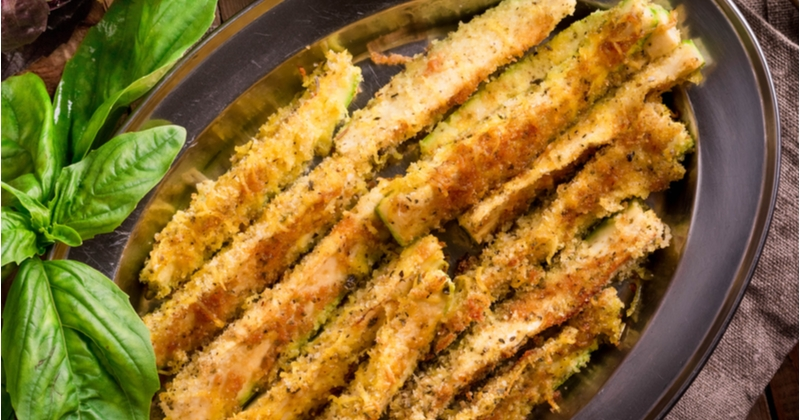 Recette Batonnet courgette parmesan