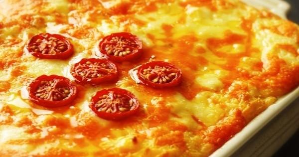 tarte au fromage et aux pommes de terre