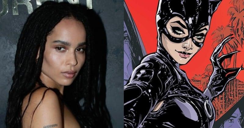 Zoe Kravitz incarnera Catwoman dans la nouvelle franchise The Batman au côté de Robert Pattinson