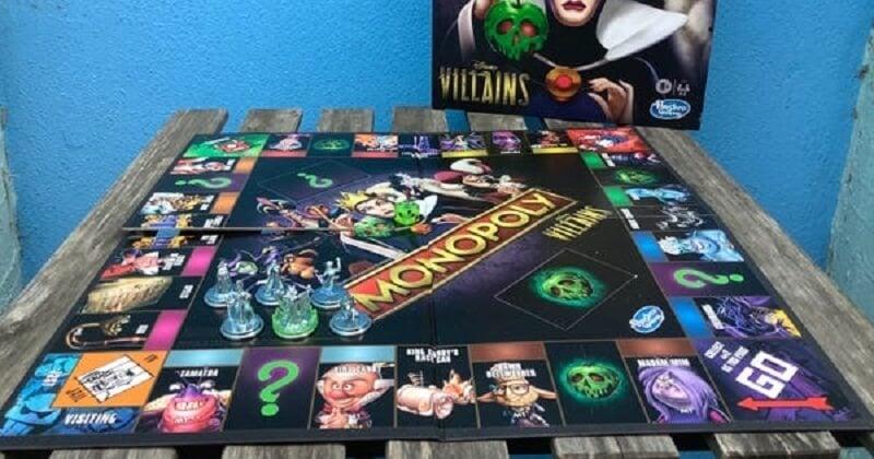 Les méchants de Disney intègrent le Monopoly avec des règles cruelles et de grandes nouveautés