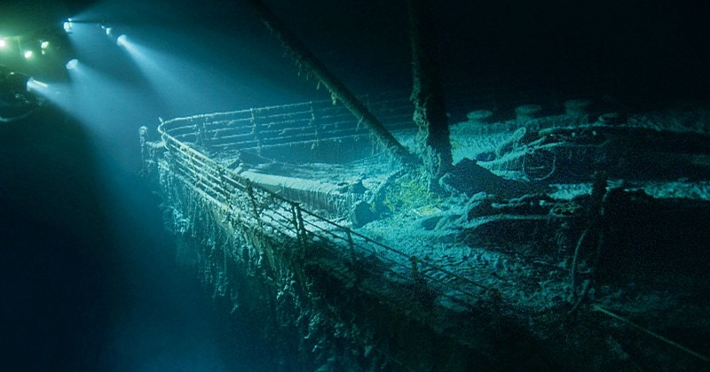 Dès 2018, grâce à une compagnie de voyages, des « touristes » pourront visiter... l'épave du Titanic !