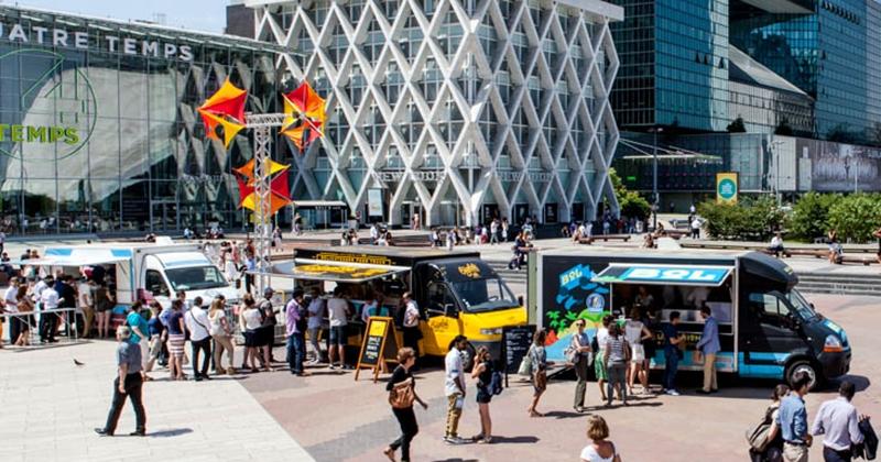 À Table avec les Food Truck de la Défense, la pause gourmande des tableaux Excel