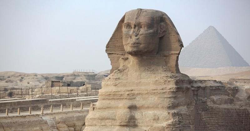 Un nouveau sphinx a été découvert dans la cité antique de Louxor, en Égypte