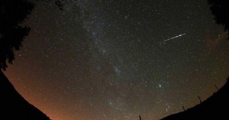 Une pluie d'étoiles filantes visible à l'oeil nu ce jeudi et ce vendredi