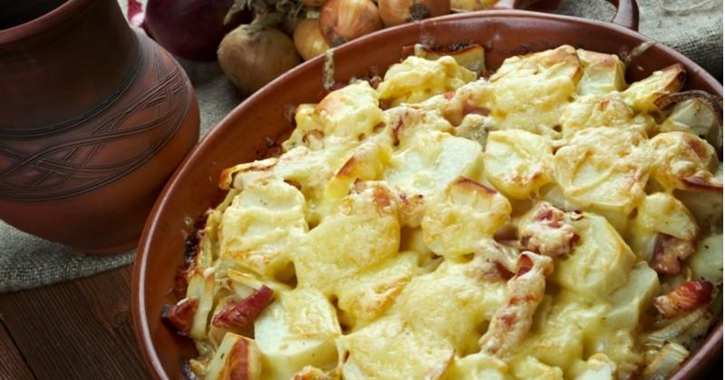 Vous adorez la tartiflette, essayez la recette au fromage de chèvre !