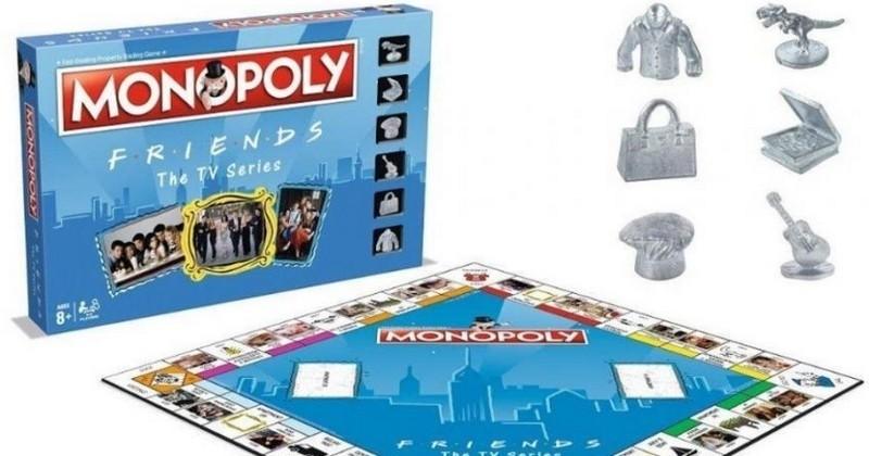 Vous pouvez dès à présent acheter le célèbre « Central Perk » ou le loft de Monica avec le Monopoly spécial « Friends »