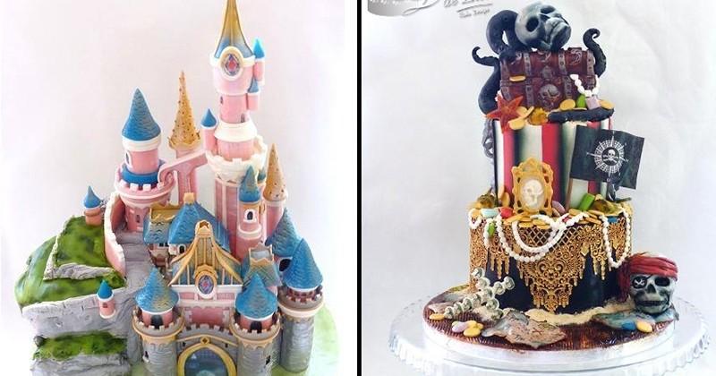 Fan de Disney, de Bob l'Éponge ou encore de Harry Potter ? Vous allez adorer ces magnifiques gâteaux, inspirés de vos héros préférés !