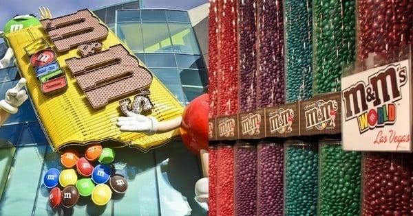 M&M's ouvre son premier magasin à Paris, sur les Champs-Élysées : le bonheur !