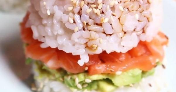 Le sushi burger, LA recette à tester ce week-end !