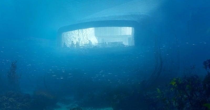 Le premier restaurant sous-marin d'Europe va s'ouvrir en Norvège !
