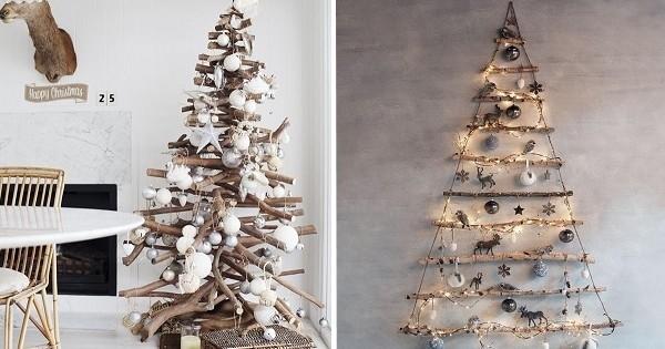 15 sapins de Noël originaux à faire soi-même
